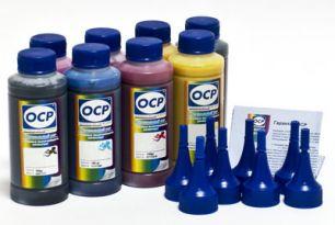 Комплект чернил ОСР (BKP114/115/201, CP117, CPL118, YP117, MP117, MPL118) для картриджей EPS 2100/2200, 100 gr x 8
