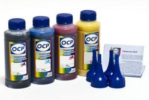 Чернила OCP для принтера Epson XP-103, XP-207, XP-303, XP-313 (BKP 115, C 142, M 140, Y 140), картриджи T1701-T1704, комплект 100 гр. x 4