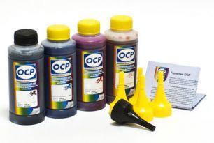 Чернила OCP для принтера HP B010b, B110, 3070A, 5510, 7000 (BK35, C143, M143, Y143) Safe Set, комплект 100 гр. x 4