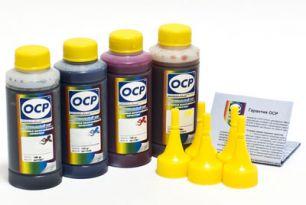 Чернила OCP для принтера HP B010b, B110, 3070A, 5510, 7000 (BKP249, C143, M143, Y143), картриджи HP 178, HP 121, HP 920, комплект 100 гр. x 4