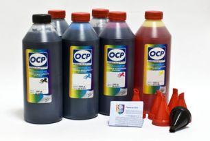 Чернила OCP для принтера и МФУ Canon MG6140, MP980 (BK35, BK123, BK124, C154, M144, Y144) Safe Set, комплект 1000 гр. x 6
