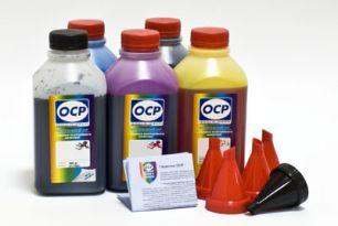 Чернила OCP для принтера и МФУ Canon iP7240, MG5440, MG5540, MG5640, MG6440, MG6640, MX924, iX6840 (BK35, BK135, C712, M135, Y135) Safe Set, комплект 500 гр. x 5