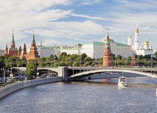 Postcard Panorama of Moscow