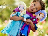 Кукла Анна и Эльза мягкая
