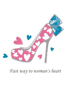 Fast way to woman's heart
