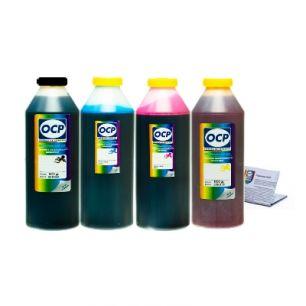 Чернила OCP для принтера HP Deskjet Ink Advantage 3525, 4515, 4615, 4625, 5525, 6525 (BK35, C343, M343, Y343) Safe Set, комплект 1000 гр. x 4