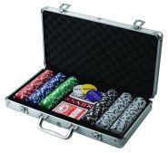 Набор для покера Poker Stars 300 фишек, DVD, кейс 15+