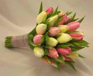 Букет из тюльпанов «Утренняя свежесть»