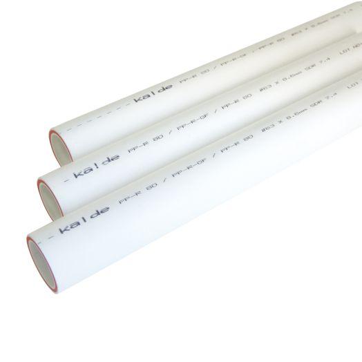 Труба ПП PN 25 20мм KALDE армированная стекловолокном