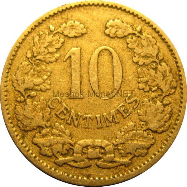 Люксембург 10 сентим 1901 г.