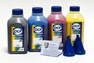 Чернила OCP для принтера Epson XP-103, XP-207, XP-303, XP-313 (BKP 115, C 140 - светостойкий, M 140, Y 140), картриджи T1701-T1704, комплект 500 гр. x 4