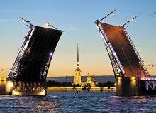 Postcard White Nights in St. Petersburg