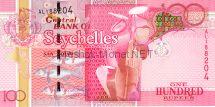 Банкнота Сейшелы 100 рупий 2011 год