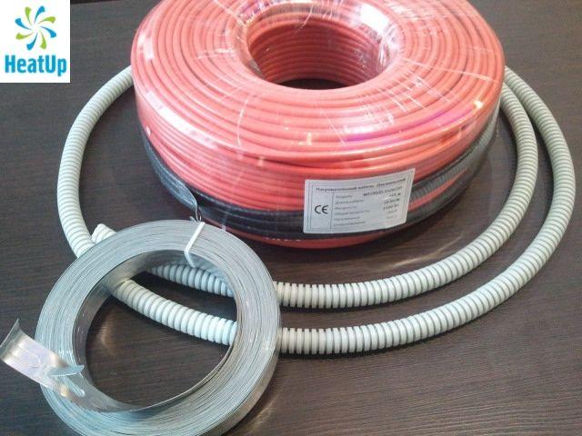 Нагревательный электрический кабель HeatUp для теплых полов купить в Екатеринбурге