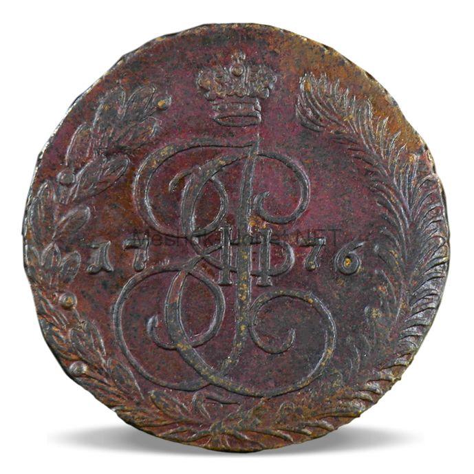 5 копеек 1776 года ЕМ