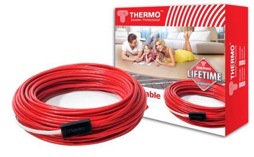 Нагревательный электрический кабель Thermo SVK-20 - длина 50 метров (площадь 9,0-10,0 м2)