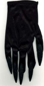 Перчатки с черными ногтями