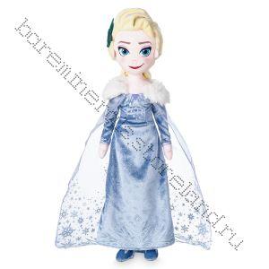 Кукла Эльза плюшевая Дисней 50 см